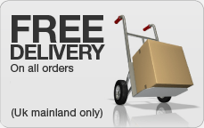 Free delivery on UK mainland