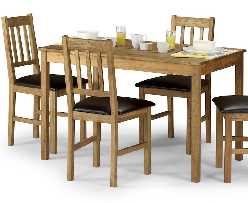 Julian Bowen Coxmoor 2 Seat Dining Set Complete Furnishings