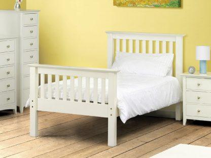 Julian Bowen Barcelona HFE bed white