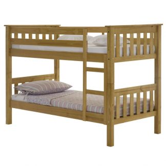 Julian Bowen Barcelona bunk bed in pine