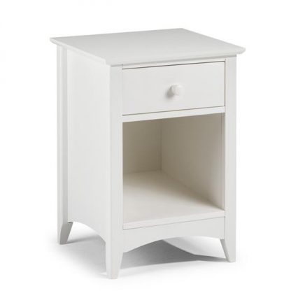 Julian Bowen Cameo 1 drawer bedside