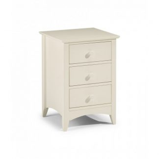 Julian Bowen Cameo 3 drawer bedside