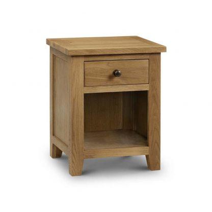 Julian Bowen Marlborough 1 drawer bedside