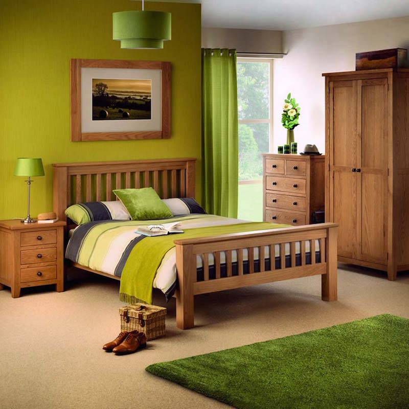 julian bowen marlborough oak bedroom range
