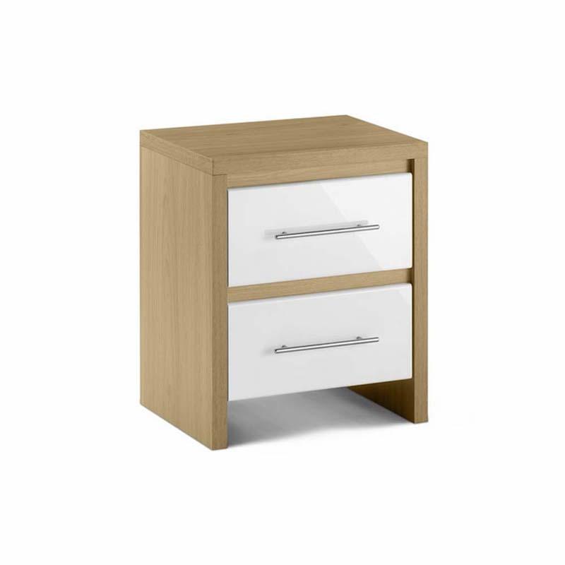 Julian Bowen Stockholm 2 drawer bedside