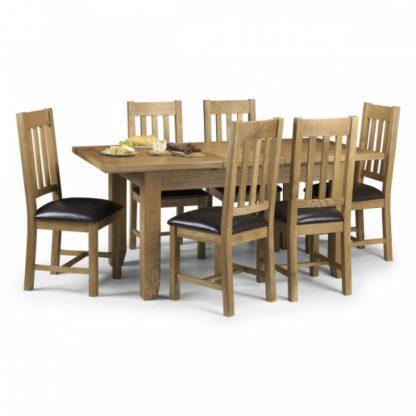 Julian Bowen Astoria dining set
