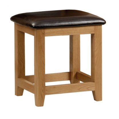 Julian Bowen Marlborough dressing table stool