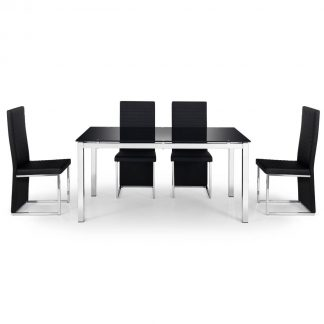 tempo dining set 4 chairs
