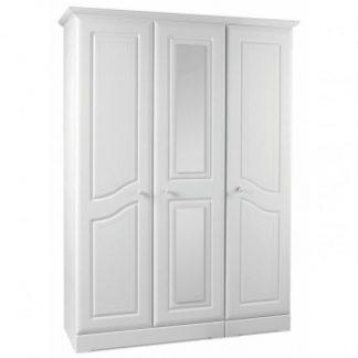 kingstown nicole 3 door wardrobe