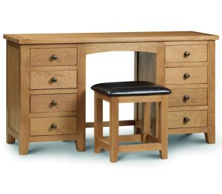Marlborough double Pedestal Dressing Table