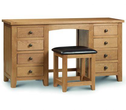 Marlborough double Pedestal Dressing Table