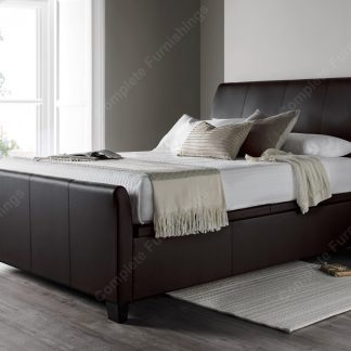 Kaydian Allendale Ottoman Bed, Brown