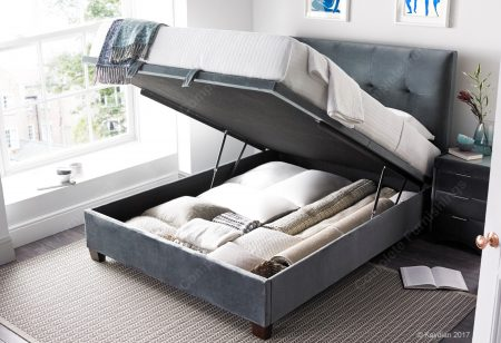 Walkworth Ottoman Bed, Cliffe, Open