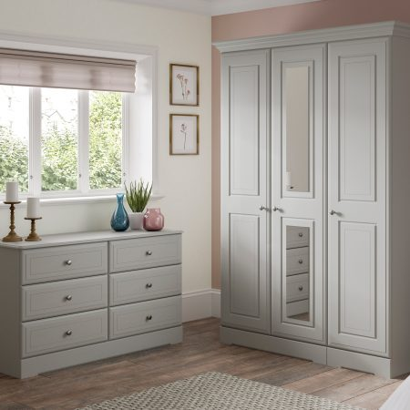 Kingstowm Nicole Grey bedroom furniture