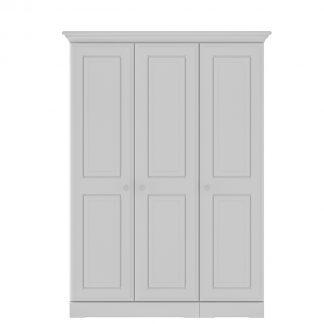 Kingstown Nicole grey 3 door wardrobe