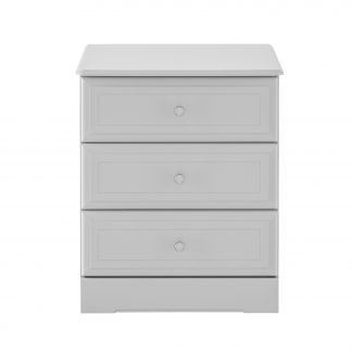 Kingstown Nicole grey 3 drawer chest