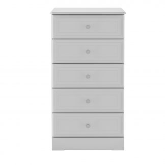 Kingstown nicole grey 5 drawer chest