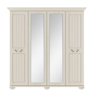 Kingstown Signature 4 door centre mirror wardrobe