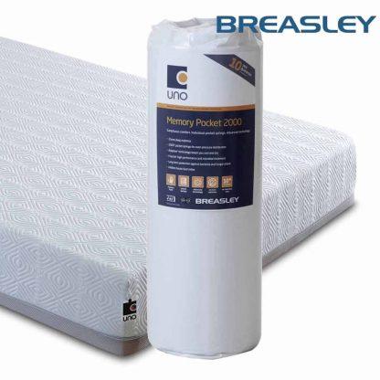 Breasley Uno Pocket 2000 mattress