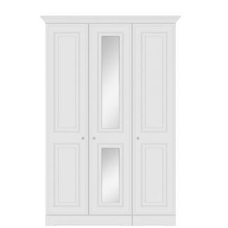 Nicole tall 3 door centre mirror robe