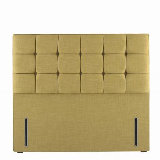 Hypnos Grace Headboard Euro Slim Lemon