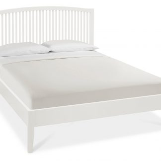 Ashby white double bed