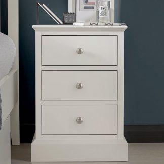 ashby 3 drawr bedside