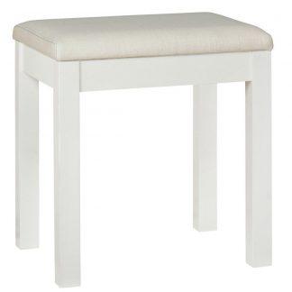 atlanta white stool
