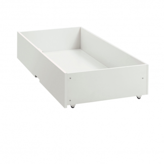 atlanta white underbed drawer