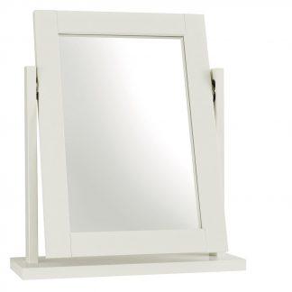 atlanta white vanity mirror