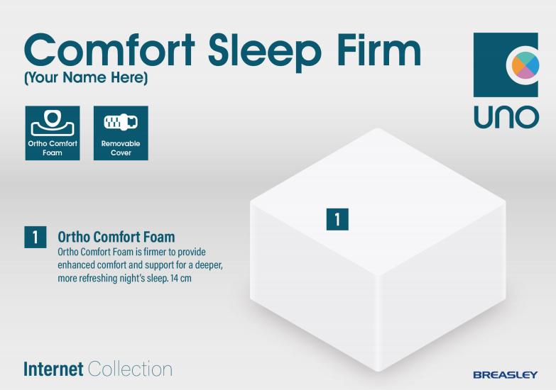 Breasley Comfort Sleep Firm