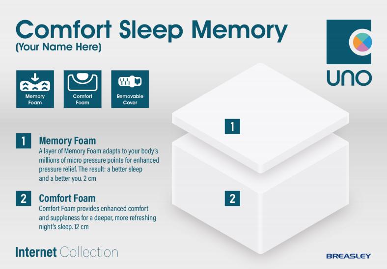 Breasley comfort sleep memory